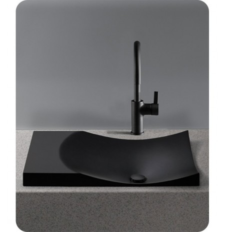 TOTO FLT142 Waza® Noir™ Cast Iron Self-Rimming Lavatory