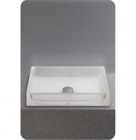 TOTO LLT151 Luminist™ Rectangle Vessel Lavatory