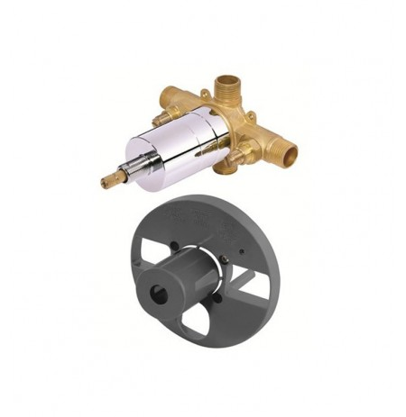 Danze D112500BT Single Control Pressure Balance Mixing Valve with Screwdriver Stops in Rough Brass