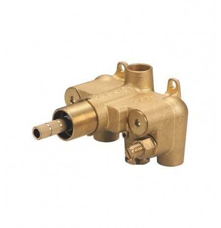 Danze D155000BT Single Handle 3/4 inch Thermostatic Shower Valve in Rough Brass