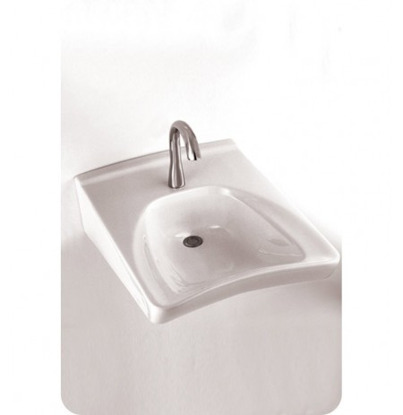 TOTO LT308A Commercial Wall Mount Wheelchair User's Lavatory with Soap Dispenser ADA