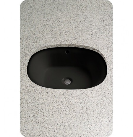 TOTO LT483 Maris™ Undercounter Lavatory in Ebony Black