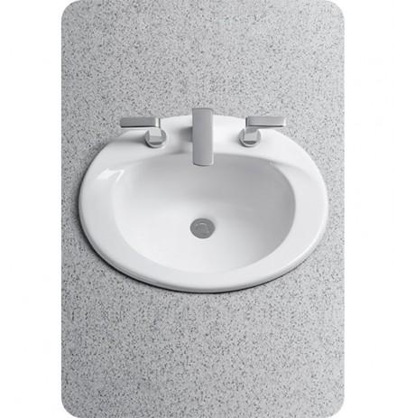 TOTO LT511G Supreme® Self Rimming Lavatory - SanaGloss® - ADA