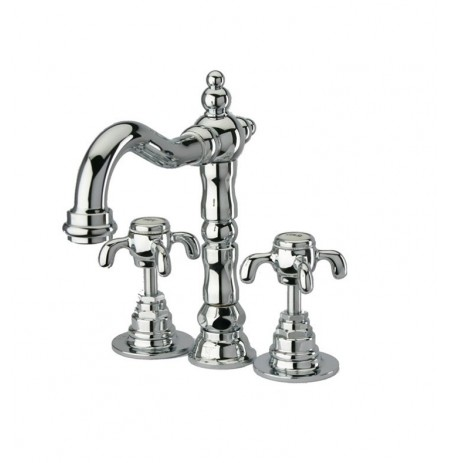 LaToscana 87CR214W Ornellaia Lavatory Faucet w/Cross Handles in Chrome