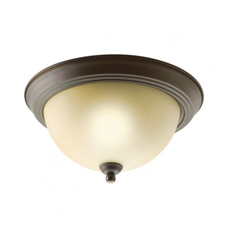 Kichler 8108OZ Flush Mount 2 Light in Olde Bronze