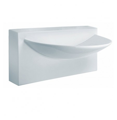 LaToscana L790 Wall Mount Sink with Integrated Basin