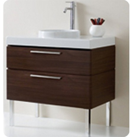 LaToscana 7063-W Asia 85 Collection Wenge Modern Bathroom Vanity