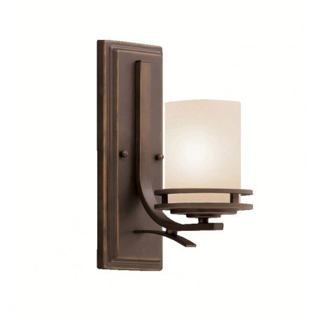 Kichler 5076OZ Hendrik Collection Wall Sconce 1 Light in Olde Bronze