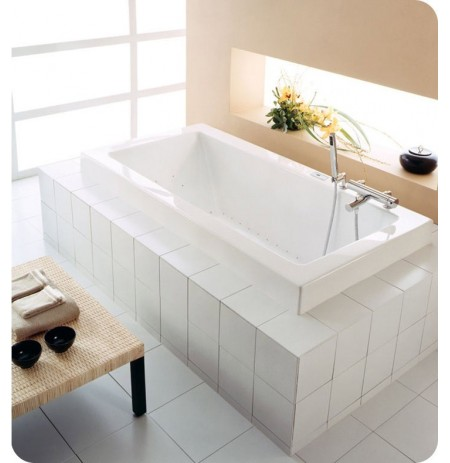 "Neptune ZEN3060 Zen 60"" x 30"" Customizable Rectangular Bathroom Tub"