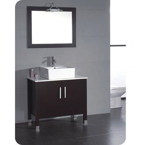 Cambridge Plumbing 8117 36 inch Bathroom Vanity Set