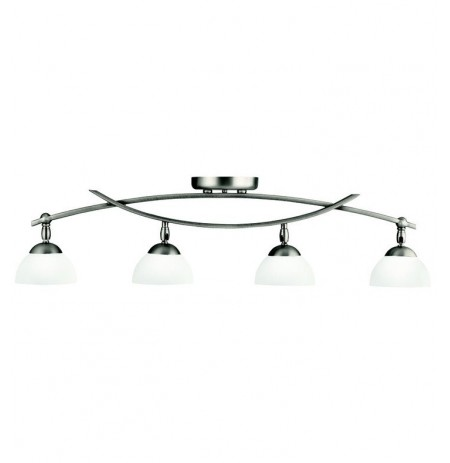 Kichler 42164AP Bellamy Collection Fixed Rail 4 Light Halogen in Antique Pewter