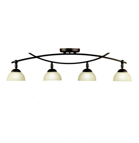 Kichler 42164OZ Bellamy Collection Fixed Rail 4 Light Halogen in Olde Bronze