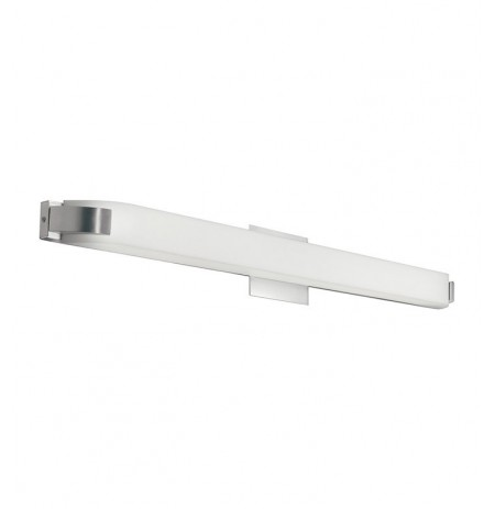 Kichler 10415NI Nobu Collection Linear Bath 39 inch Fluorescent in Brushed Nickel