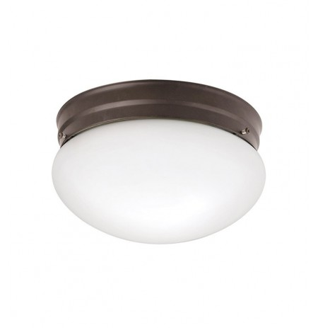 Kichler 209OZ Ceiling Space Collection Flush Mt 2 Light in Olde Bronze