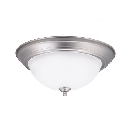 Kichler 8112NILED Flush Mount in Brushed Nickel